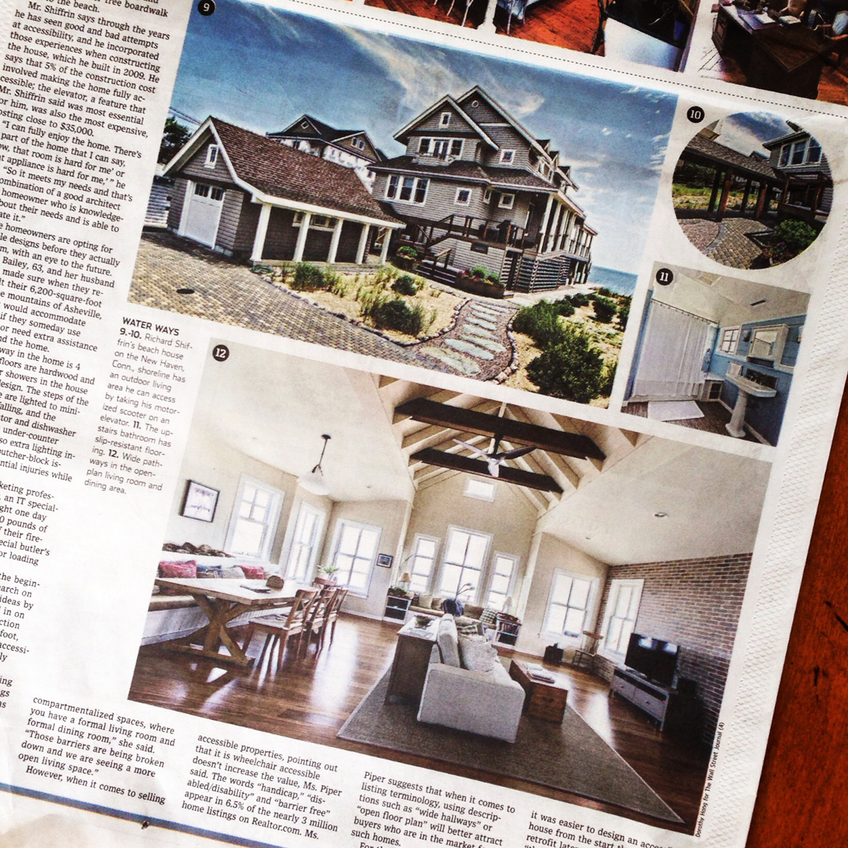 Wall Street Journal 2014- Featured Architect